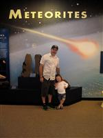 Myself and my daughter at the Harvard Natural History Museum