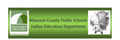 Missoula County Public Schools Indian Education Department Logo
