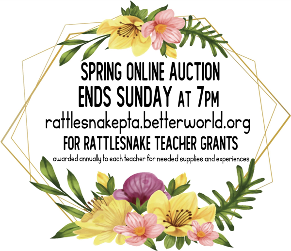 Spring Auction Logo