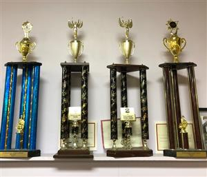 First place festival trophies