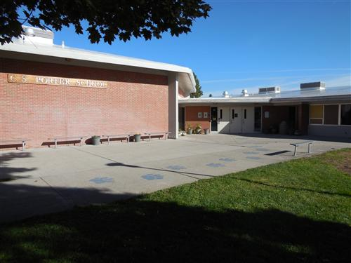 Exterior Photo of Porter Middle School