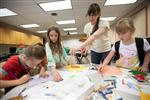 Photo of Paxson students working in classroom