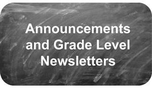 Announcements and Newsletters