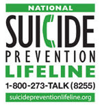 Suicide Prevention Lifeline Number: 1-800-273-8255