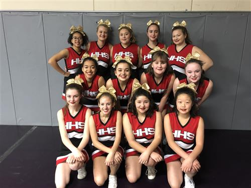 2019-2020 Hellgate Cheer Squad
