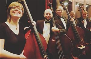 Mr Johns and the Missoula Symphony bass section