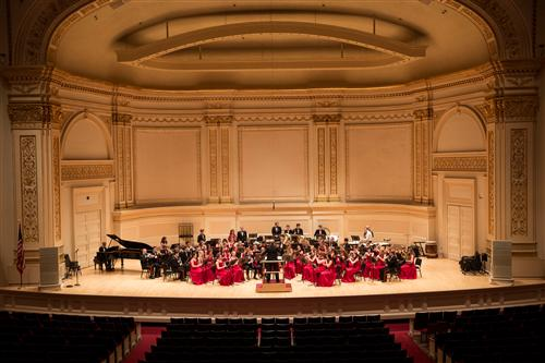 2015 Hellgate Wind Ensemble at Carnegie Hall