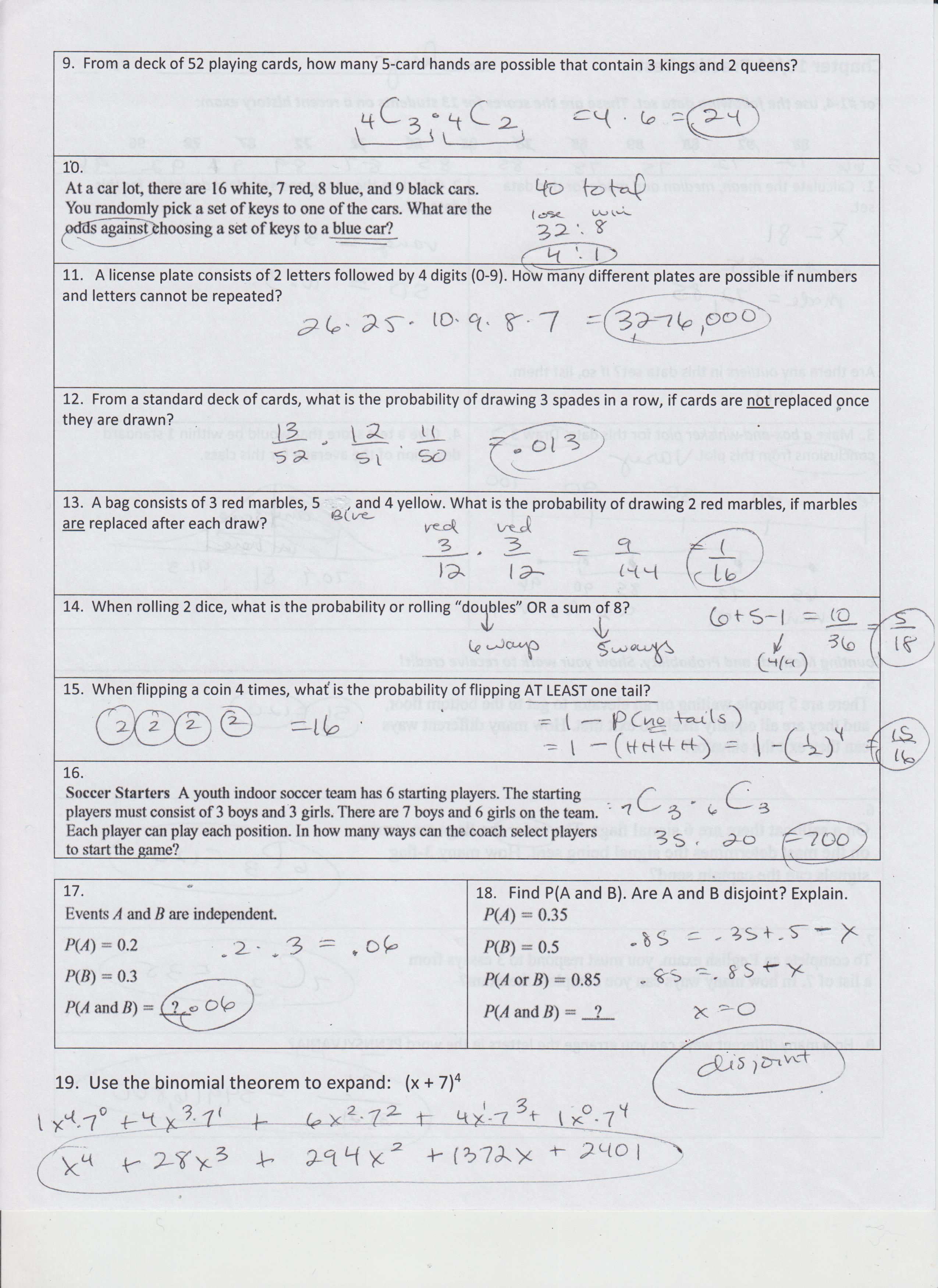Anderson, Lisa - Mathematics / Algebra 2 (per 5 and 6)
