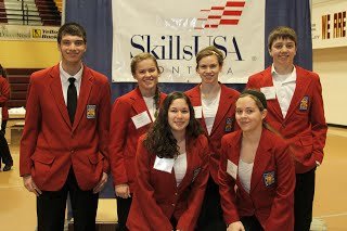 SkillsUSA Students