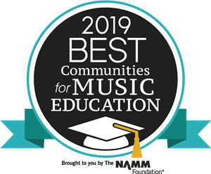 MCPS Best Community for Music Education Award 2019