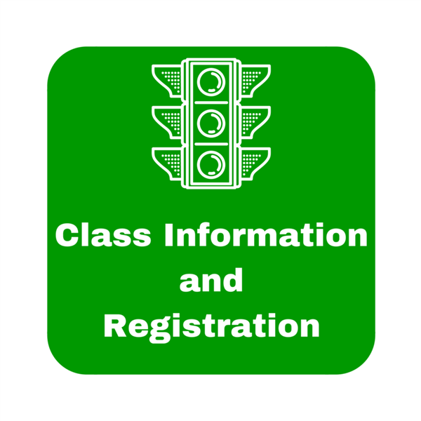 Class Information and Registration