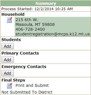 Pre-Enrollment Instructions